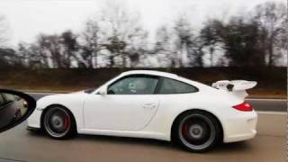 Porsche 997 GT3 vs BMW M5 E60