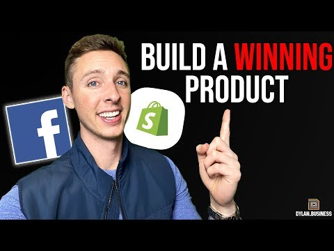 How to Build Winning Products | Shopify Dropshipping Tutorial thumbnail