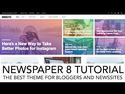 How To Create A Blog or News Website *NEW*