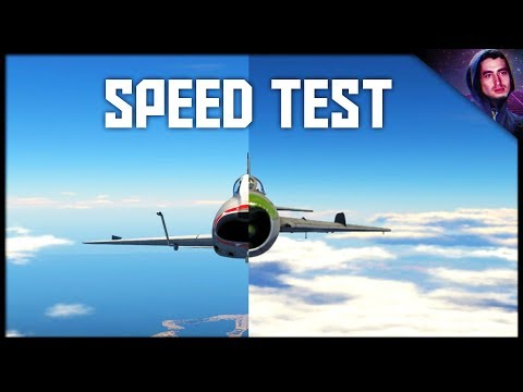 F-100D vs Mig 19PT TOP SPEED TEST || War Thunder Supersonic Gameplay