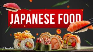 Cooking Design Pack - Japanese Food  - After Effects template from Videohive
