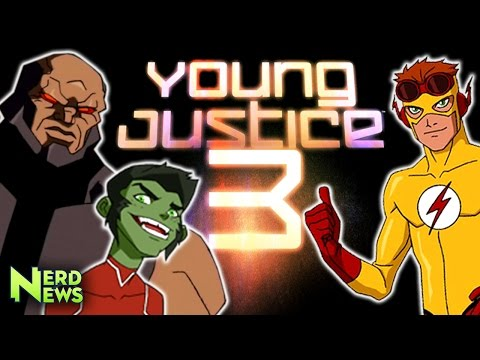 Young Justice Season 3 CONFIRMED! It