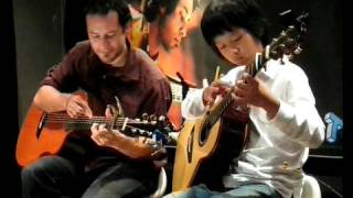(Pachelbel) Canon  - Trace Bundy & Sungha Jung