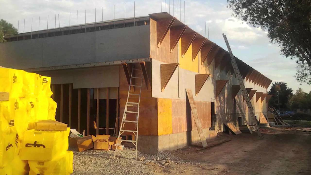 Cellular Concrete House Building For : Spider tie cellular concrete house youtube