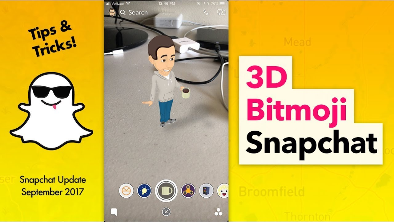 How to Use 3D Bitmoji on Snapchat