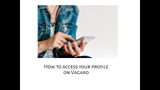How to access your profile on Vagaro