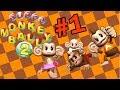 Super monkey ball 2 Part 1 - funny ha ha