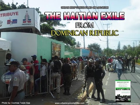 LIVE FOOTAGE of Hundreds of Haitians Awaiting Visas In The Dominican Republic