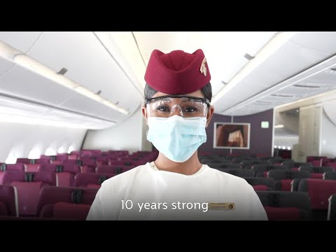10 strong years connecting Canada to the world | Qatar Airways
