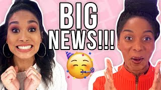 OUR BIGGEST ANNOUNCEMENT YET!! + BLOOPERS!