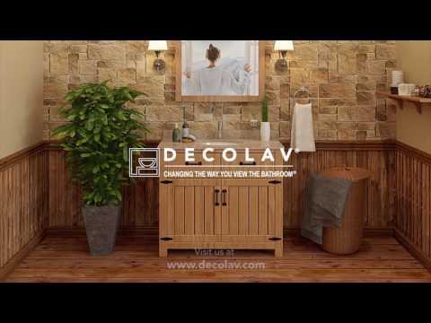The Countryside Bathroom Vanity by DECOLAV