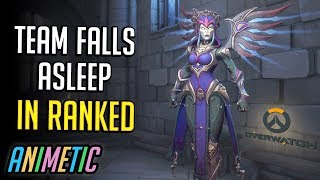 Team falls asleep in ranked - Season 21 - Overwatch