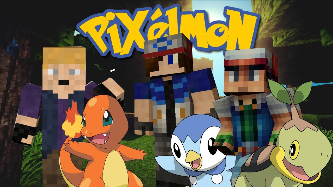 Pixelmon episode 1 charmander i choose you youtube - Pixelmon ep 1 charmander ...