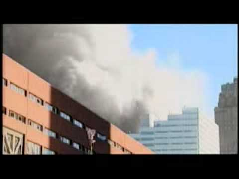 47 Story World Trade Center Building 7 Collapses At Near Free-Fall Speed In Seconds!