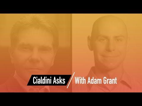 Cialdini Asks: Adam Grant
