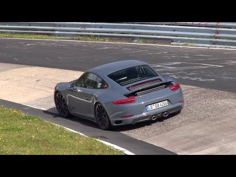 [SPYVIDEO] 2016 Porsche 911 Carrera GTS MkII testing on the Nürburgring!