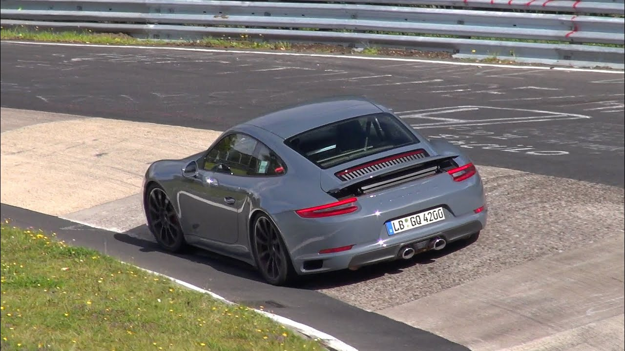 Spyvideo 2016 Porsche 911 Carrera Gts Mkii Testing On The Nürburgring