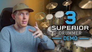 Superior Drummer 3: Overview & Demo | Toontrack Drum Plugin