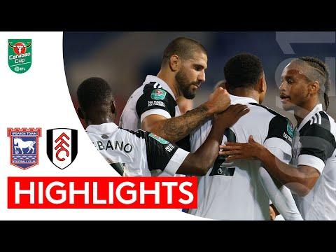 2020/21 Highlights: Ipswich Town 0-1 Fulham | Birthday boy Mitrović scores his 50th Fulham goal.