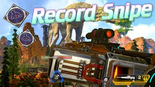Breaking my Record for the LONGEST 300+ Metre Snipe! (Apex Legends)