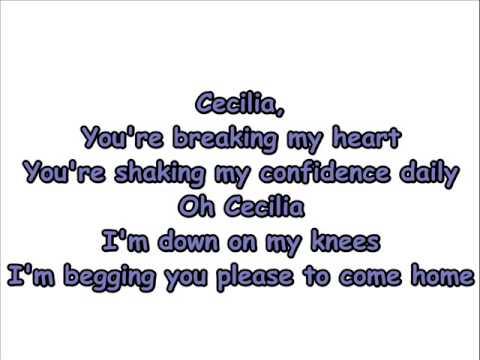 Simon And Garfunkel - Cecilia Lyrics | MetroLyrics