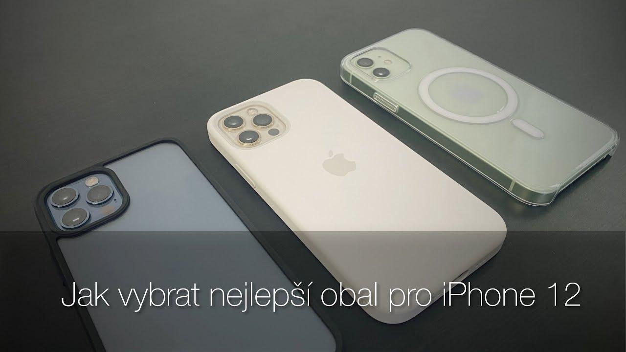Jak vybrat první obal pro iPhone 12 [4K] (Alisczech vol. 383)