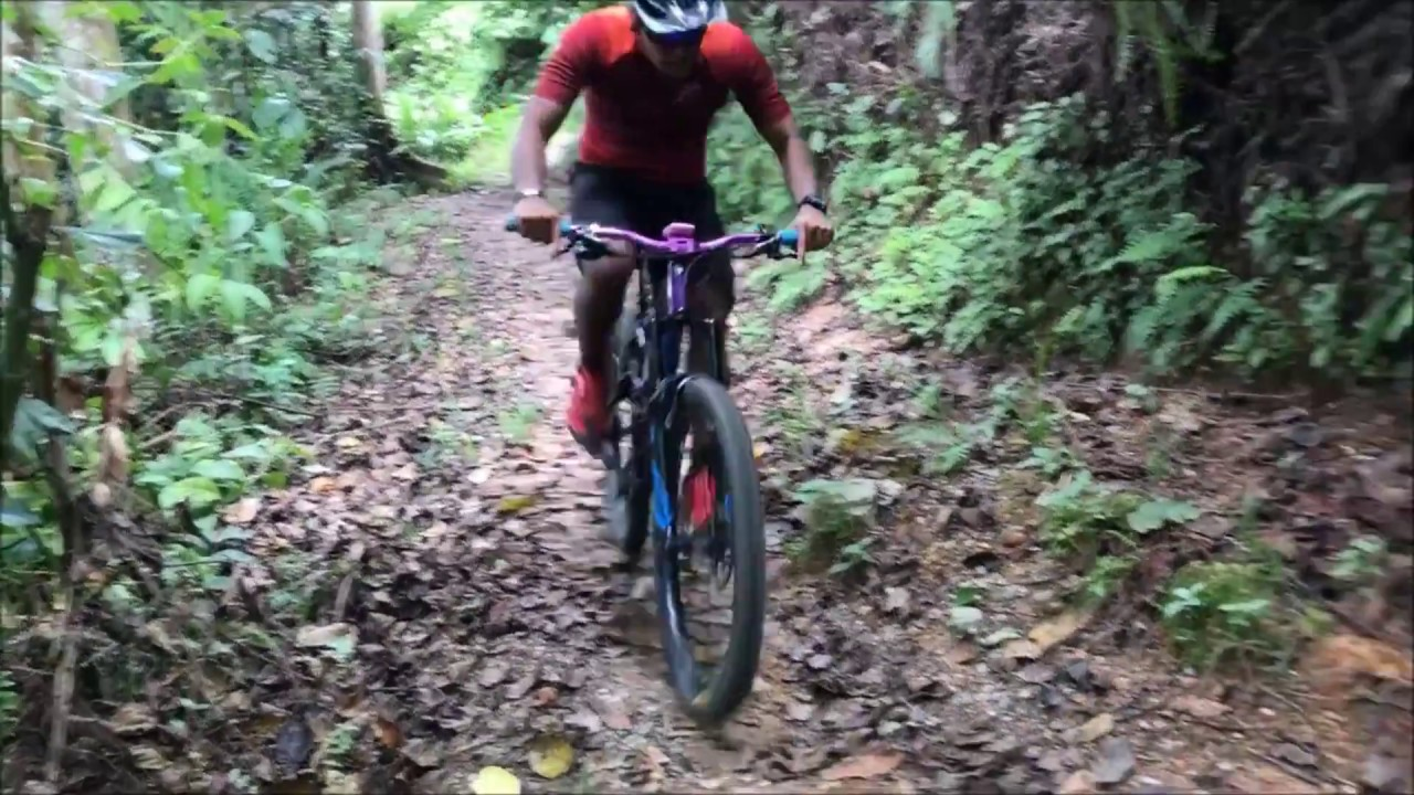 Pulau Ubin: Ketam MTB Trails with Treknology - YouTube