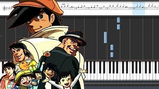 Ashita No Joe OST-Joe's Whistle [Easy Piano Tutorial]