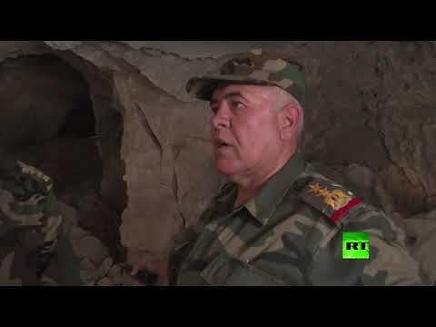 الجيش السوري يعثر على كهف في خان شيخون استخدم قاعدة للمسلحين و-مكتبا- للخوذ البيض  - نشر قبل 3 ساعة