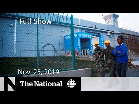 The National for Monday, Nov. 25 — Uighurs in Canada; Fertility Supplements