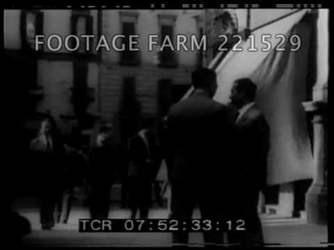 Lucky Luciano in Naples - 221529-29 | Footage Farm