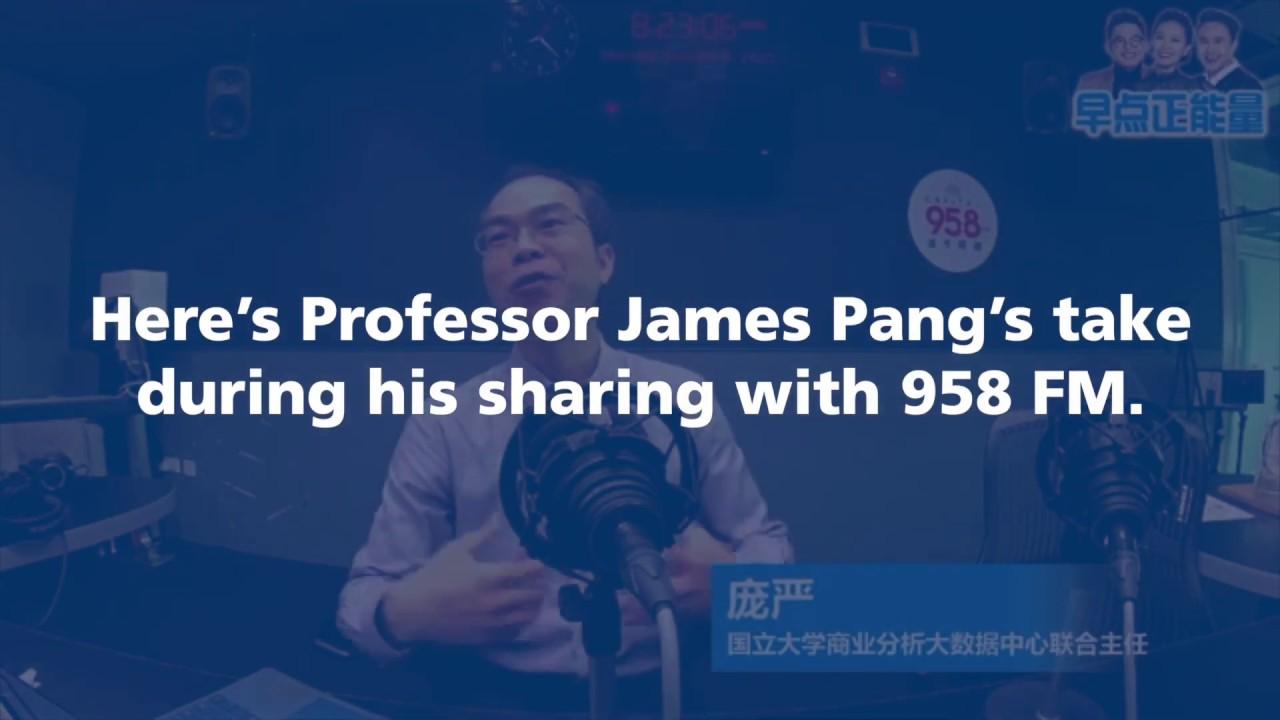 Digital VS Traditional banks - NUS Business BAC Co-Director,  Associate Professor, James Pang