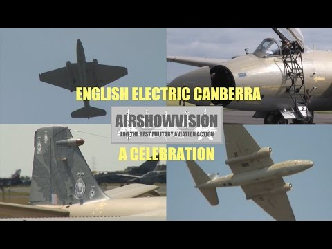 ENGLISH ELECTRIC CANBERRA PR9 APPRECIATION (airshowvision)