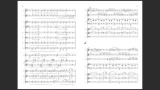 またまた変な編成&打楽器が一人10役です。ビオラとコントラバスがい...