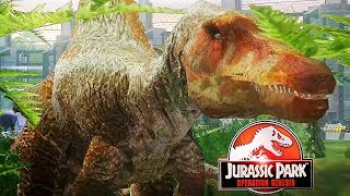 SPINOSAURUS V SPINOSAURUS | Jurassic Park: Operation Genesis (Let's Play Part 9)