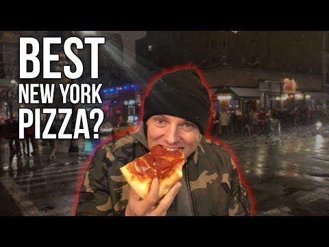 Traveling All The Way To NYC For Pizza!? | New York Travel Vlog