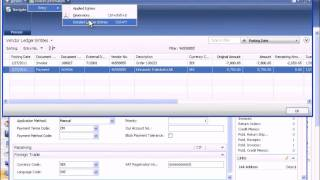 Microsoft Dynamics NAV: Payables (Part 3 of 3)