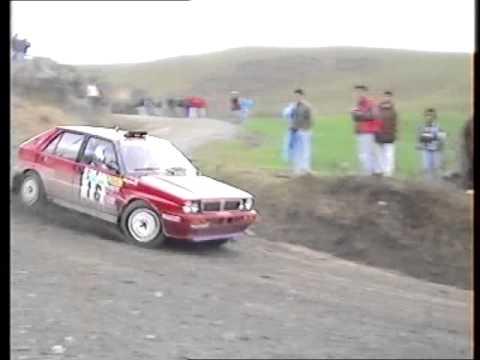 Rally Coppa Liburna 1992 Trofeo Terra P.s. Ulignano.WMV