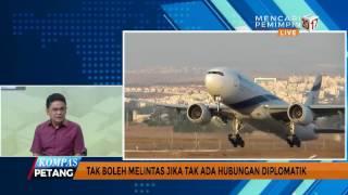 Larangan Pesawat Israel Lintasi Indonesia, Lazimkah?
