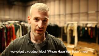 """BTS: """"Where Have You Been"""": Wardrobe Fitting"""