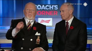 Family member of veteran calls for apology from Don Cherry