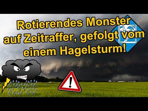 Schweres Hagelunwetter im Großraum München, 10. Juni 2019