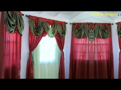 Curtain designs for homes interiors