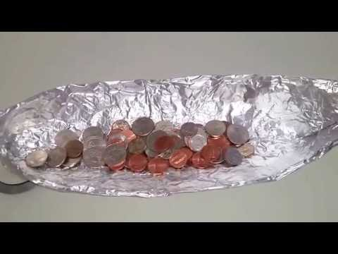 How Many Coins Can A Aluminum Boat Withstand On Water???