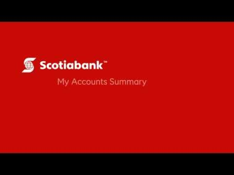 View My Accounts Summary