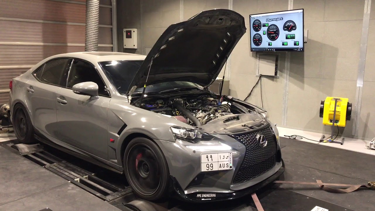Supercharged Lexus Is350 450 Hp Youtube