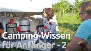 Wohnwagen und Wohnmobil parken und richtig ausrichten - Camping Anfänger Workshop Teil 2