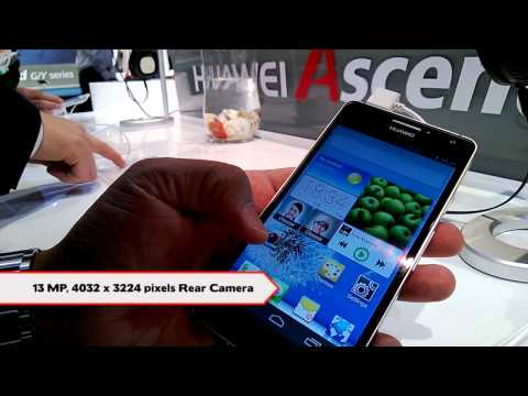Huawei Ascend D2 Hands on Demo