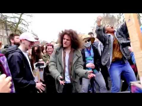 Anti Cameron Protest Descends Into Bizarre 'Rave'