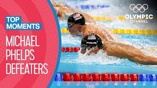 11 Athletes who beat Michael Phelps in an Olympic Final | Top Moments